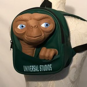 Vintage ET the Extraterrestrial Backpack universal